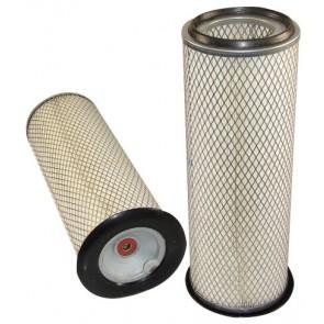 Filtre à air primaire pour chargeur FIAT HITACHI FT 800 moteur IVECO