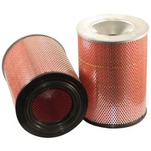 Filtre à air sécurité pour chargeur CASE-POCLAIN W 20 C moteur CASE