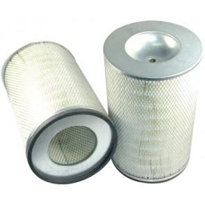 Filtre à air primaire pour moissonneuse-batteuse CLAAS LEXION 440 moteurPERKINS 01.96->12.01  250 CH  1306.9/E87 TA