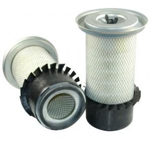 Filtre à air primaire pour tractopelle JCB 3 C moteur PERKINS 315000-> AA 50204