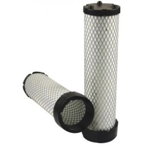 Filtre à air sécurité pour tondeuse JOHN DEERE 8800 PRECISION CUP moteur YANMAR 2008-> 3 TNV 84 HT