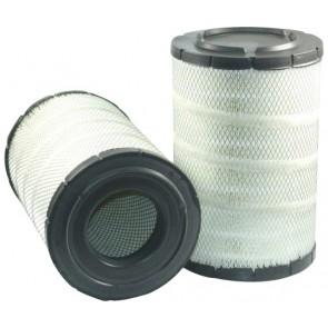 Filtre à air primaire pour chargeur KOMATSU WA 380-6 moteur KOMATSU 2007-> SAAD107E-1