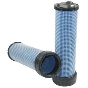 Filtre à air sécurité pour télescopique JCB 520-40 B moteur PERKINS 2011-> 404D22