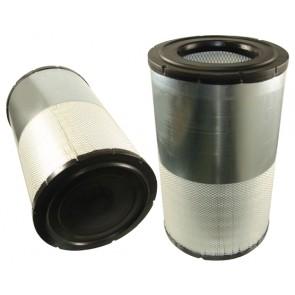 Filtre à air primaire pour moissonneuse-batteuse MASSEY FERGUSON 7272 moteurSISU   288 CH  6 CYL