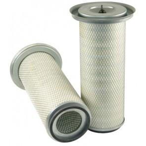 Filtre à air primaire pour moissonneuse-batteuse MASSEY FERGUSON 30 moteurSISU     620