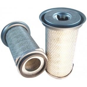 Filtre à air primaire pour tractopelle FOREDIL 23.14 moteur PERKINS 1999-> 1004.4T