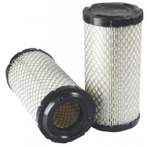 Filtre à air primaire pour tractopelle TEREX SX 860 moteur PERKINS 2005-> 1104C-44