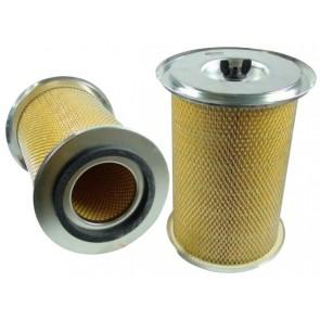 Filtre à air primaire pour télescopique JCB 520-55 FS moteur PERKINS 277001->