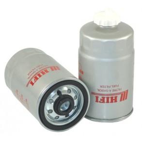 Filtre à gasoil pour tractopelle FIAT HITACHI FB 110 moteur FORD