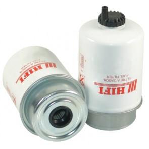 Filtre à gasoil pour tractopelle FIAT HITACHI FB 200.2 moteur FORD 96 CH