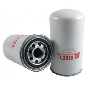 Filtre à huile pour tractopelle FIAT HITACHI FB 200.2 moteur CNH