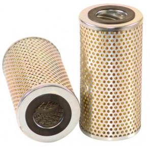 Filtre à huile pour tractopelle VENIERI VF 10.54 moteur PERKINS 6.372