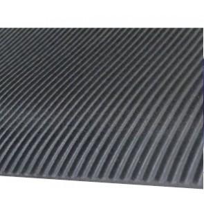 Tapis Caoutchouc stries fines 3mm - larg.1.20m  (m²) pour pulvérisateur agricole