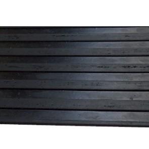 Tapis Caoutchouc Stries larges 3mm - larg.1.20m - le m² pour pulvérisateur agricole