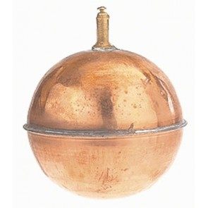 Boule Cuivre Flotteur diamètre 120 pour pulvérisateur agricole