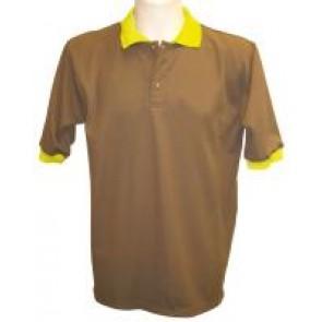 POLO 100% coton 230gr - 3 boutons - BLEU ou BEIGE - TAILLE XXL