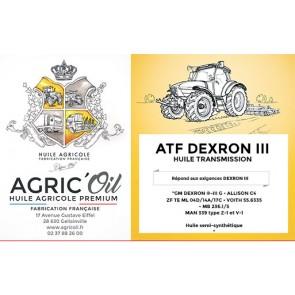 Huile ATF Dextron3 60L
