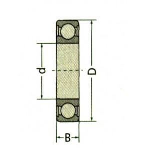 ROULEMENT 62102RSC3