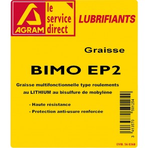 24 cartouches 400g de graisse EP2 multi usages