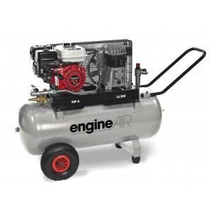 Compresseur autonome 100l/17m3/4cv/10b/essence