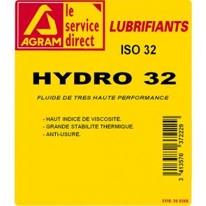 Huile hydraulique HYDRO HV 32 - 5 L