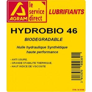 Huile hydraulique HYDRO HV 46 BIO 60L