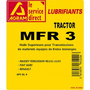 Huile UTTO TRACTOR MFR3 60L