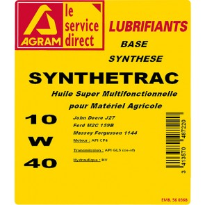 Huile multifonctionnelle 10W40 SYNTHESE 5L