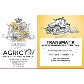 Huile transmission automatique TRANSMATIK - 60 L