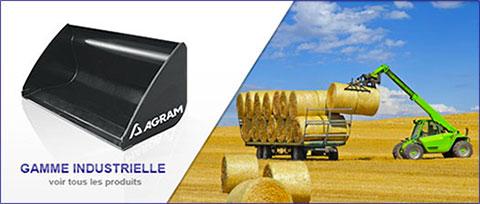 Voir la gamme d'équipements télescopiques Agram