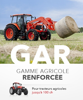 Outils de chargeur gamme agricole renforcée