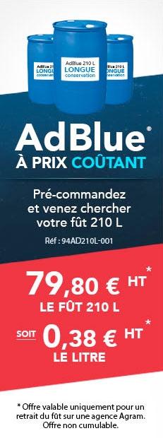 AdBlue à prix coûtant