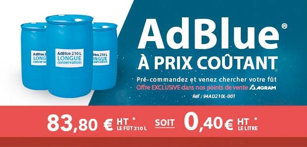 AdBlue prix coûtant