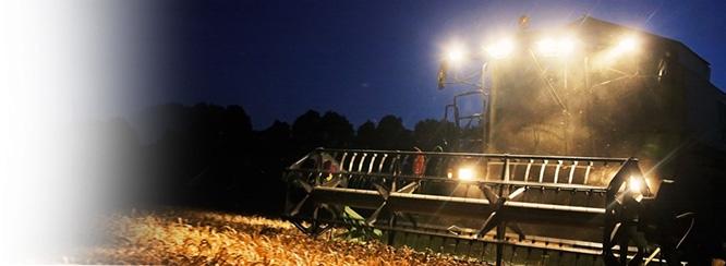 Matériels d'éclairage agricoles et BTP