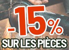 Pénurie acier -15% pièces