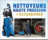 Nettoyeurs haute pression professionnels